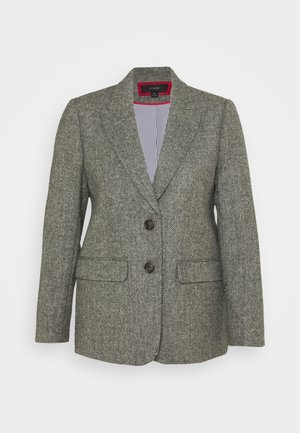 BOYFRIEND IN GRAPH HERRINGBONE - Blazer - graphite