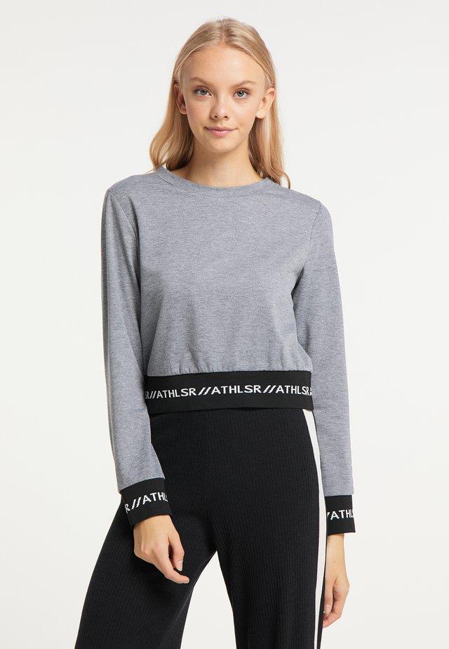 Sweater - grau melange