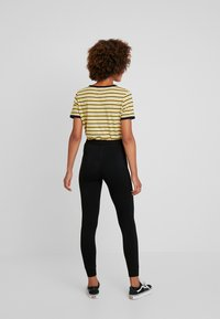 Topshop - MONO JEGGER - Leggings - Trousers - plain black - 2