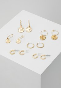 sweet deluxe - 7 PACK - Earrings - gold-coloured - 0