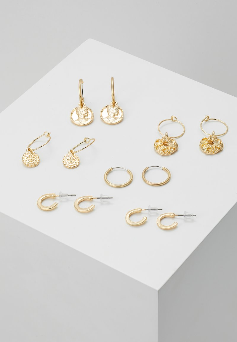 sweet deluxe - 7 PACK - Earrings - gold-coloured