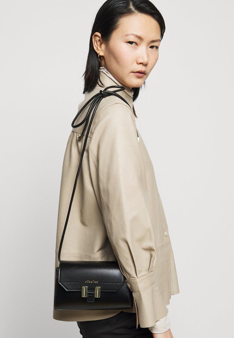 Maison Hēroïne - LILIA NANO - Across body bag - black