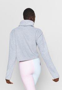 Eivy - PEG CROPPED - Fleece jumper - grey - 2