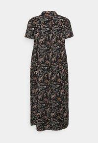 Vero Moda Curve - VMSIMPLY EASY LONG - Maxi dress - black - 6