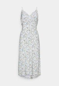 Abercrombie & Fitch - SLIP MIDI DRESS - Day dress - white - 6