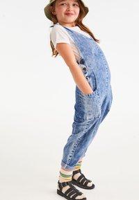 Next - LOOSE FIT - Jumpsuit - blue denim - 0