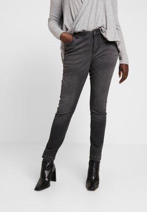 CROPPED SALLY - Jeans Skinny Fit - dark grey denim