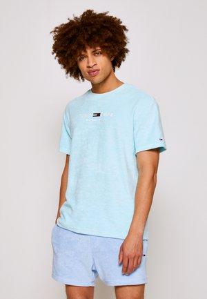TOWELING TEE - Print T-shirt - aqua coast