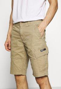 Superdry - Short - dress beige - 5