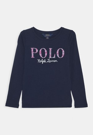 Long sleeved top - french navy multi