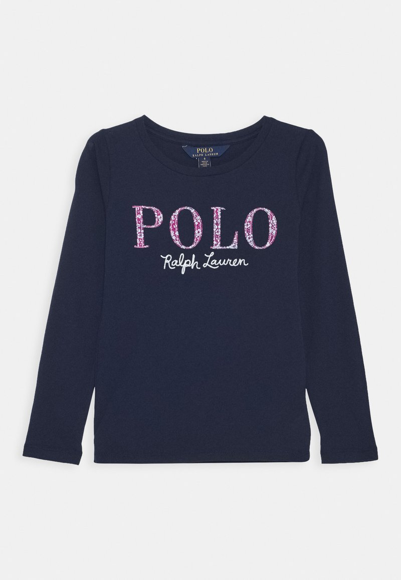 Polo Ralph Lauren - Top s dlouhým rukávem - french navy multi