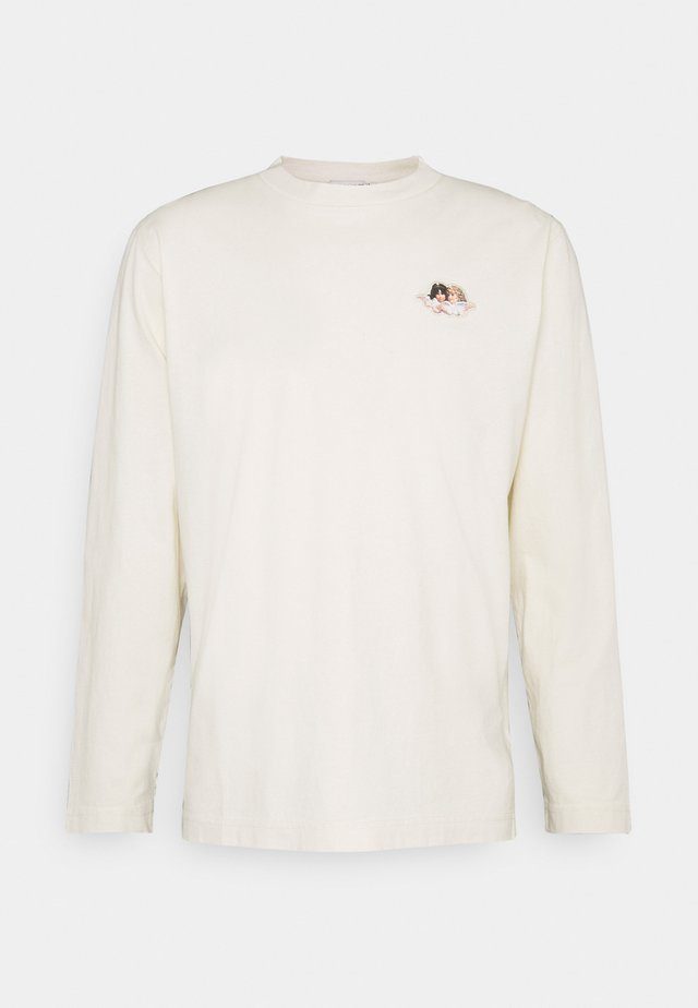ICON ANGELS LONG SLEEVE TEE - Topper langermet - cream