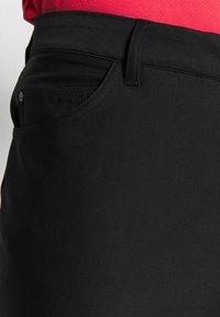 adidas Golf - Tygbyxor - black - 5