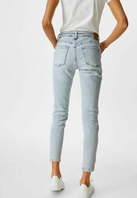 C&A - Jeans Skinny Fit - denim light blue - 2