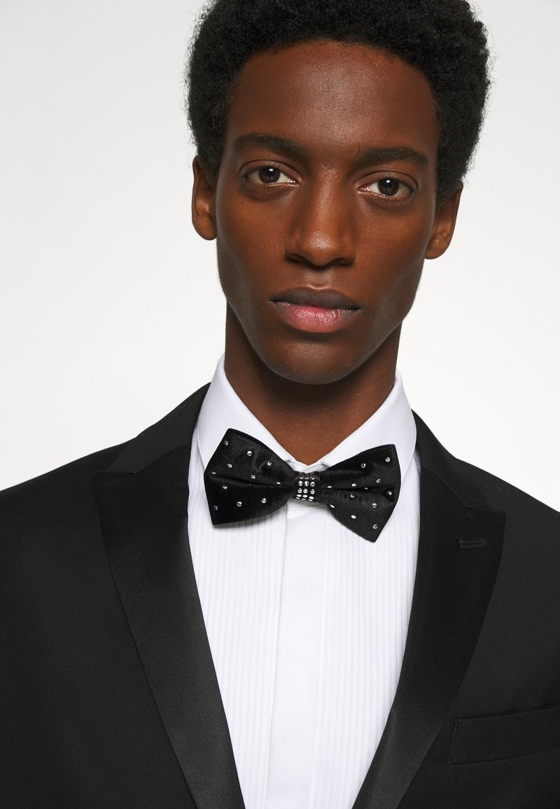 Burton Menswear London - STUDDED BOWTIE - Motýlek - black