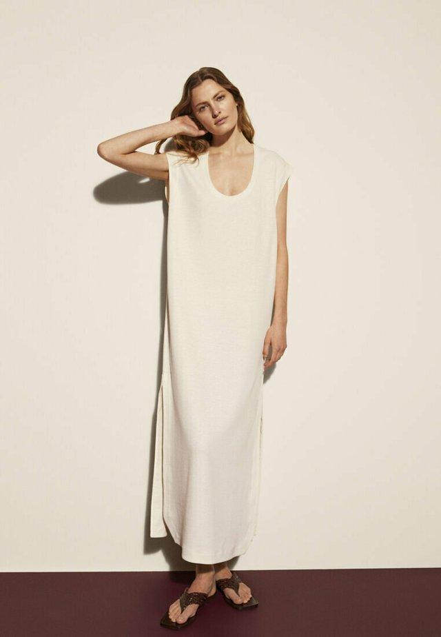 Robe longue - beige