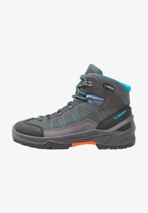 APPROACH GTX MID JUNIOR - Walking boots - anthrazit/türkis
