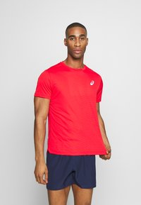 ASICS - SILVER SS - T-shirt basique - classic red - 0