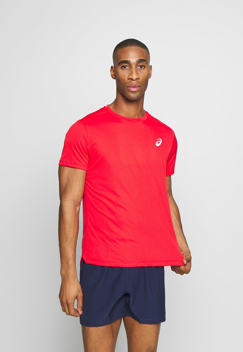 ASICS - SILVER SS - T-shirt basique - classic red