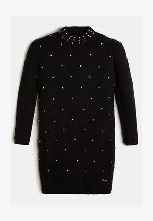 STRASS - Jumper dress - schwarz