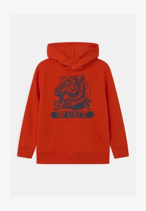 BOYS GREAT - Hoodie - grenadine orange
