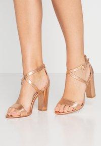 Glamorous - High heeled sandals - rose gold - 0
