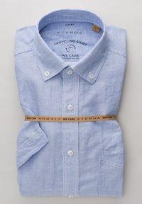 Eterna - SLIM FIT - Shirt - hellblau/weiß - 5