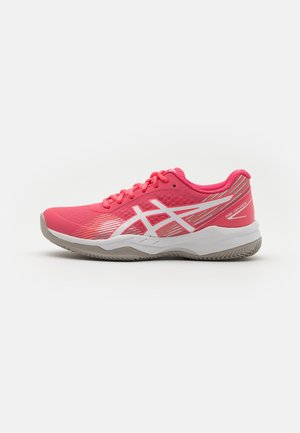 GEL-GAME 8 CLAY - Clay court tennis shoes - pink cameo/white