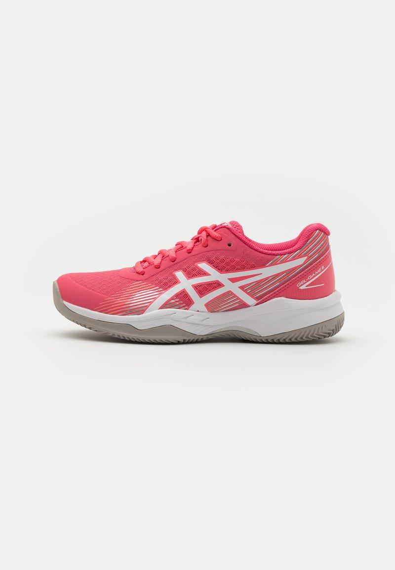 ASICS - GEL GAME 8 CLAY - Tenisové boty na antuku - pink cameo/white