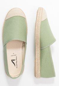 Grand Step Shoes - EVITA PLAIN PARIS - Espadrilles - mint - 3
