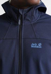 Jack Wolfskin - Soft shell jacket - night blue - 3