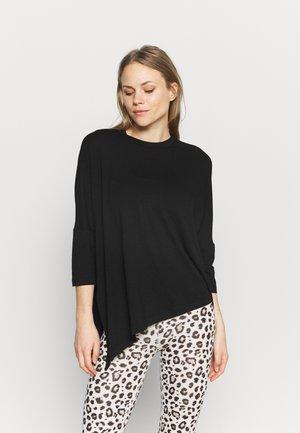 MELLOW - Maglietta a manica lunga - black