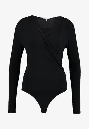 LIONE - Langærmede T-shirts - black