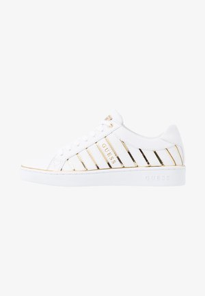 BOLIER - Zapatillas - white/gold