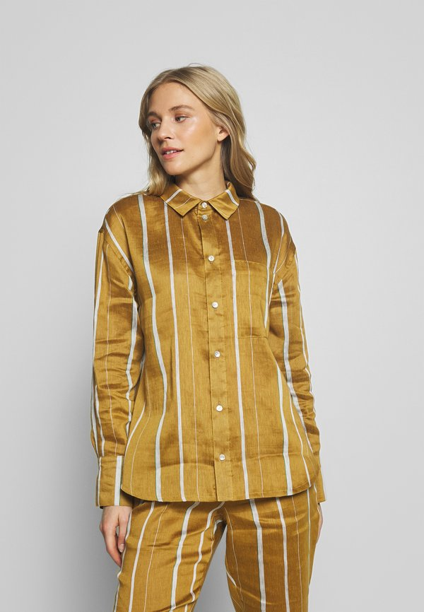 Six Ames KAMILLA - Koszula - beige/beżowy XMRA