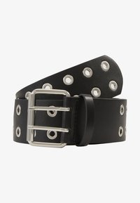 Pieces - PCMILA WAIST BELT - Belt - black/silver-coloured - 3