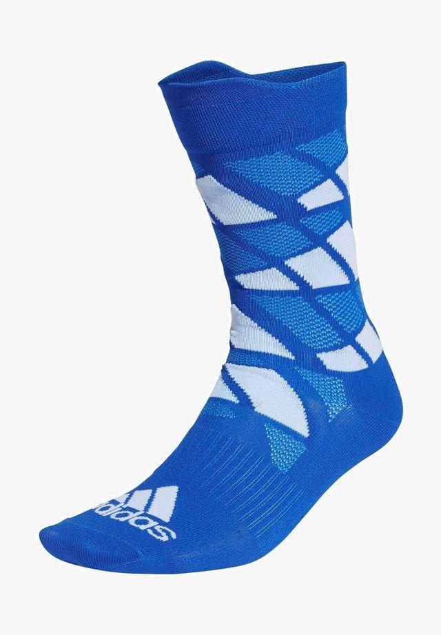 ULTRALIGHT ALLOVER GRAPHIC CREW - Sports socks - blue