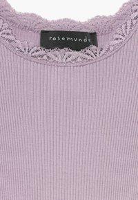 Rosemunde - SILK-MIX T-SHIRT REGULAR LS W/LACE - Top sdlouhým rukávem - iris purple - 3