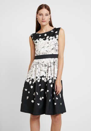 Cocktail dress / Party dress - white/black