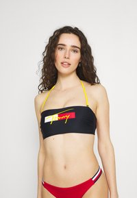 Tommy Hilfiger - BANDEAU FIXED - Bikini top - desert sky - 0