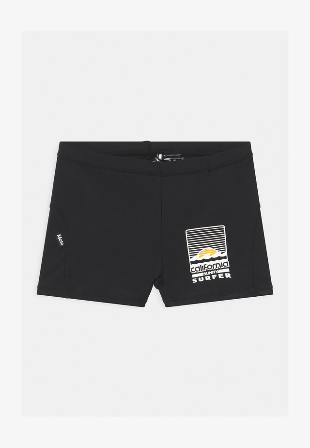 NORTON SOLID - Swimming trunks - black