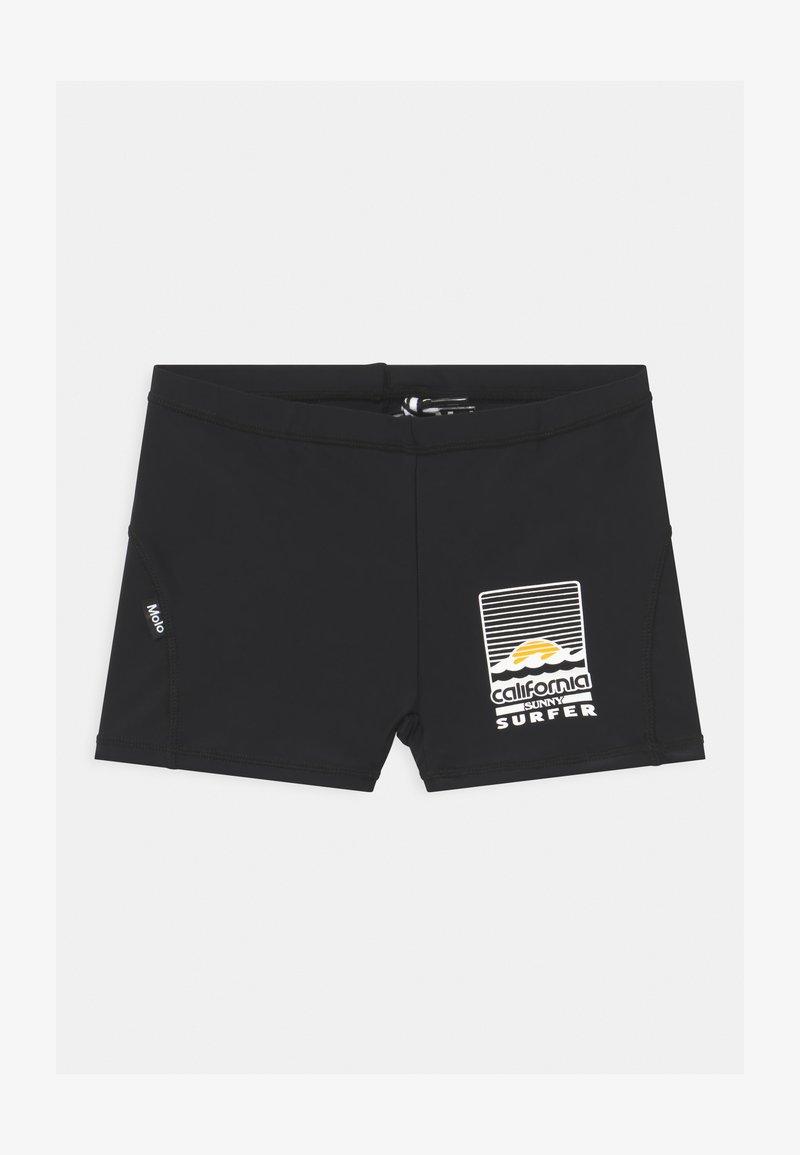 Molo - NORTON SOLID - Swimming trunks - black