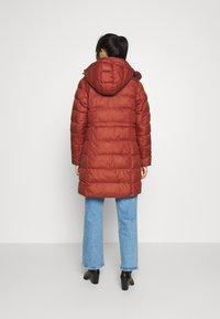 G-Star - WHISTLER SLIM LONG COAT - Zimní kabát - dry red - 2