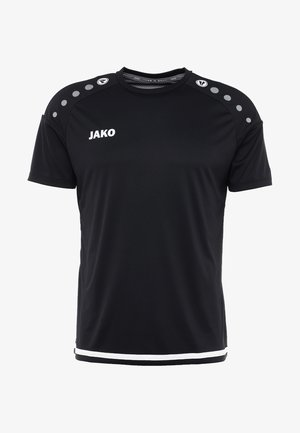 TRIKOT STRIKER  - Sports shirt - schwarz/weiß
