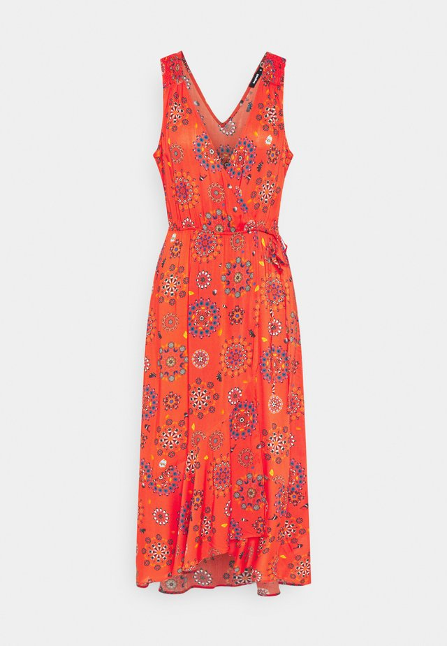 SANTORIN - Korte jurk - red