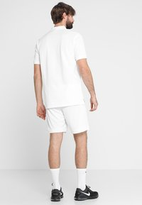 Nike Performance - DRY ACADEMY SHORT  - Sports shorts - white/white/black - 2