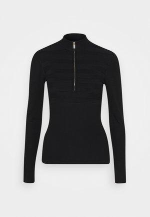 MENZIP - Pullover - noir