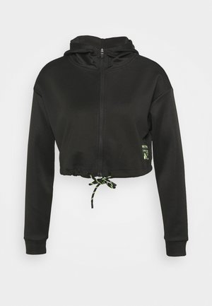 ONPJUDIE CROPPED ZIP HOOD - Training jacket - black
