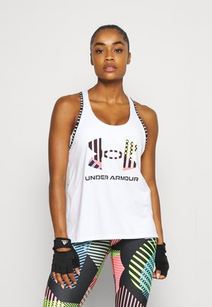 GEO KNOCKOUT TANK - Top - white
