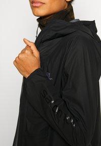 Salomon - OUTSPEED 360 - Hardshell-jakke - black - 4